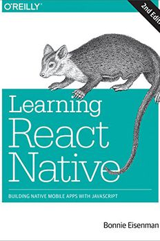 Learning React Native book cover