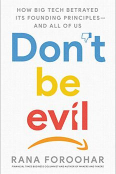 Don't Be Evil book cover