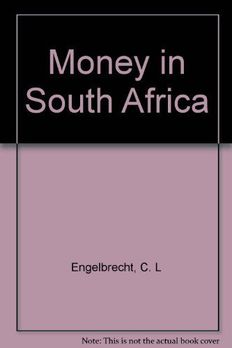 Money in South Africa book cover