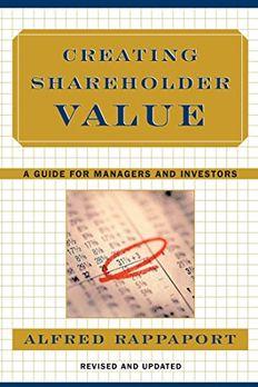 Creating Shareholder Value book cover