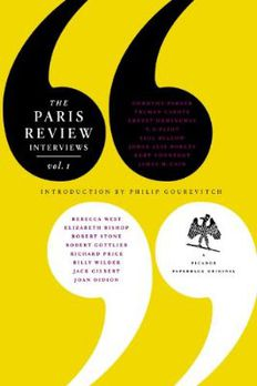 The Paris Review Interviews, I book cover