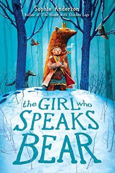 The Girl Who Speaks Bear book cover