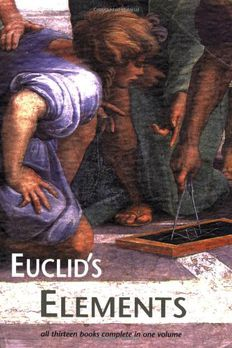 Euclid's Elements book cover