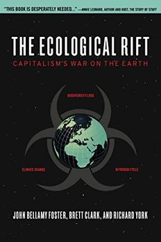 The Ecological Rift book cover