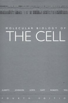 Molecular Biology of the Cell, Fourth Edition book cover