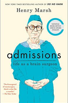 Admissions book cover