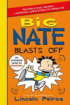 Big Nate Blasts Off book cover