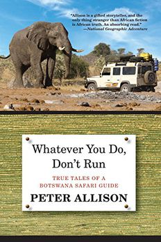 Whatever You Do, Don't Run book cover