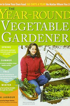 The Year-Round Vegetable Gardener book cover