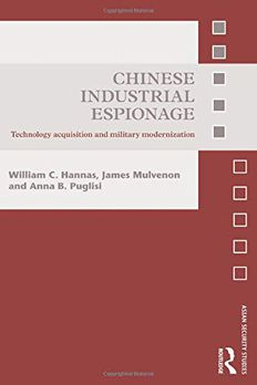 Chinese Industrial Espionage book cover