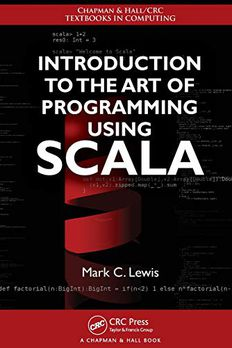 Introduction to the Art of Programming Using Scala book cover