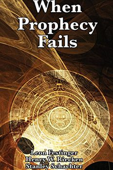 When Prophecy Fails book cover