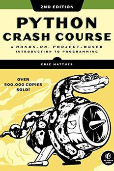 Python Crash Course book cover