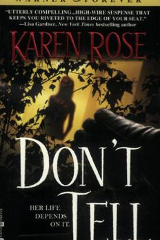 Don't Tell book cover