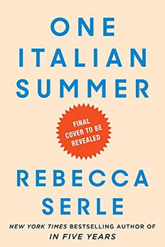 One Italian Summer book cover