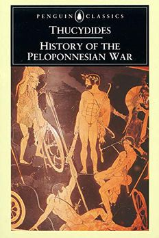History of the Peloponnesian War book cover
