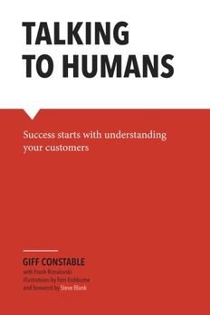 Talking to Humans book cover