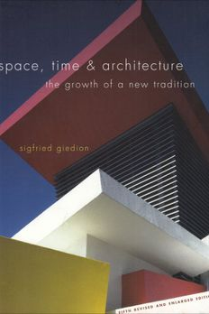 Space, Time and Architecture book cover