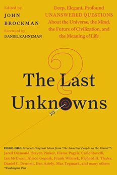 The Last Unknowns book cover