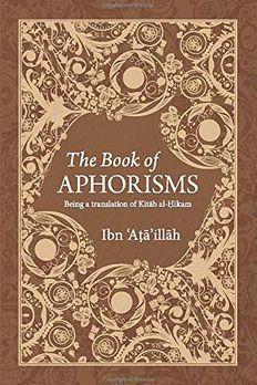 The Book of Aphorisms book cover