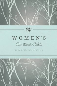 ESV Women's Devotional Bible book cover