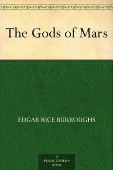 The Gods of Mars book cover
