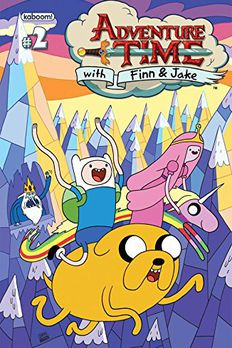 Adventure Time #2 book cover
