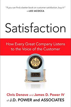 Satisfaction book cover