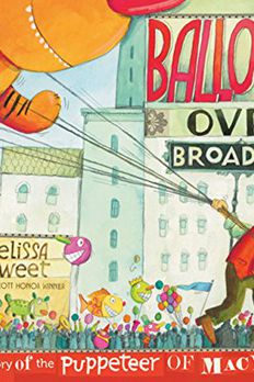 Balloons over Broadway book cover