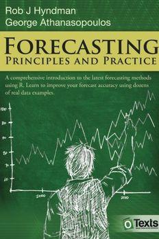 Forecasting book cover