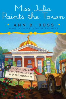 Miss Julia Paints the Town book cover
