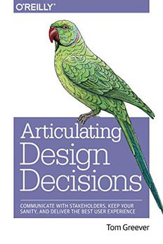 Articulating Design Decisions book cover