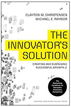 The Innovator's Solution book cover