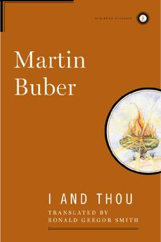 I and Thou book cover