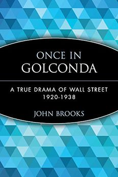Once in Golconda book cover