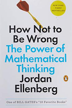 How Not to Be Wrong book cover