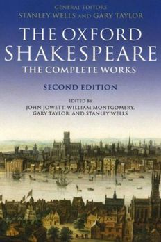 The Oxford Shakespeare book cover