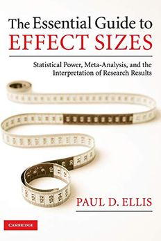 The Essential Guide to Effect Sizes book cover