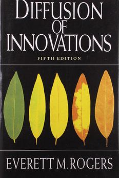 Diffusion of Innovations, 5th Edition book cover