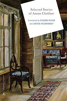 Stories of Anton Chekhov book cover