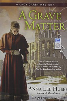 A Grave Matter book cover