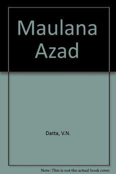 Maulana Azad book cover
