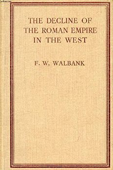 The decline of the Roman Empire in the West book cover