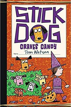 Stick Dog Craves Candy book cover