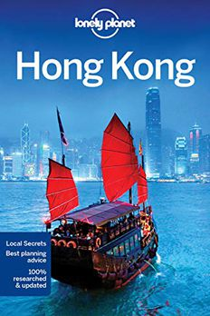 Lonely Planet Hong Kong book cover