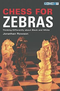 Chess for Zebras book cover