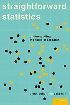 Straightforward Statistics book cover