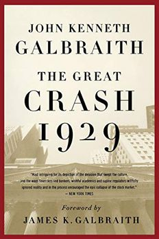 The Great Crash 1929 book cover