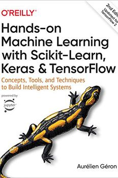 Hands-On Machine Learning with Scikit-Learn, Keras, and TensorFlow book cover