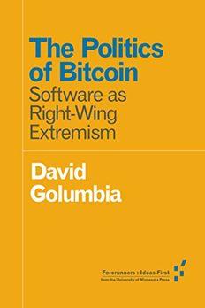 The Politics of Bitcoin book cover